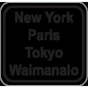 New York, Paris, Tokyo... (0)