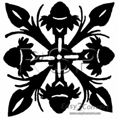 STAMP Hawaiian Quilts Torch Ginger