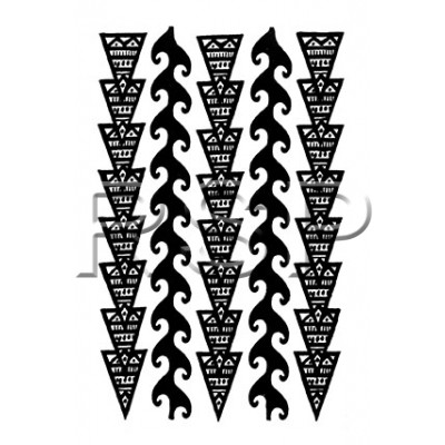 TT Waves and Arrows Temporary Tattoos